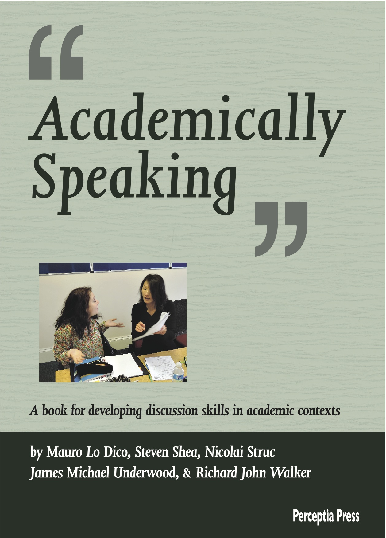 Academically Speaking Cover